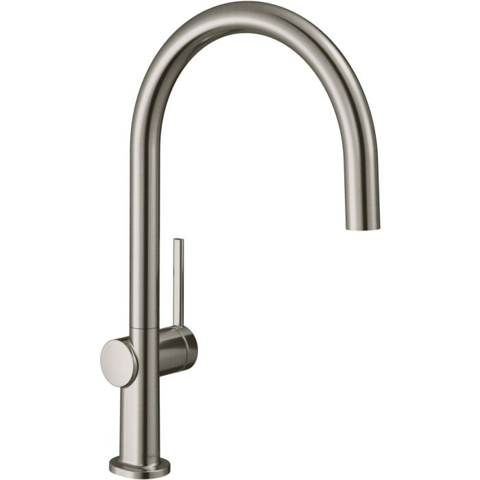 hansgrohe talis m54 kitchen faucet 72804800 1jet stainless steel finish