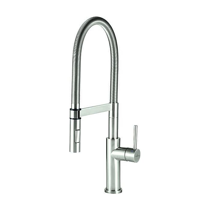 villeroy boch kitchen faucet 926500lc 6 5 l min stainless steel shower stainless steel solid