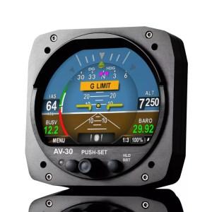 Digital Primary Flight Display