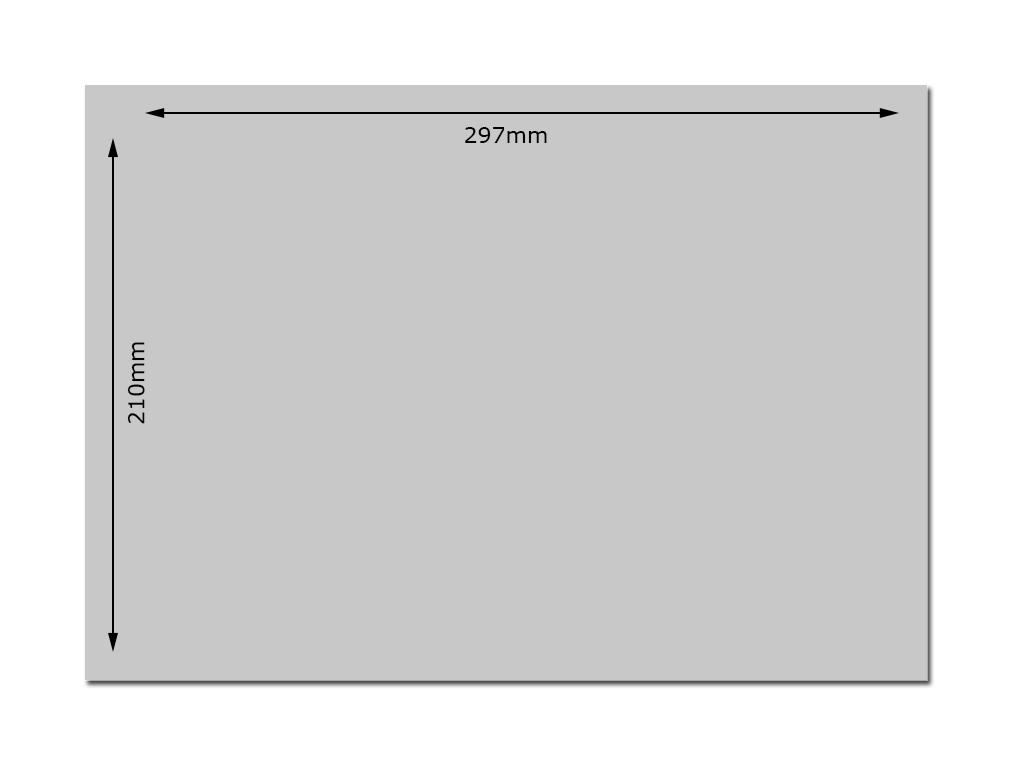A4 Plain Sheet