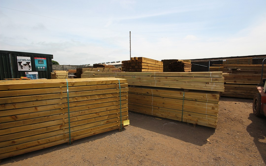 Timber Supply in North Berwick & East Lothian