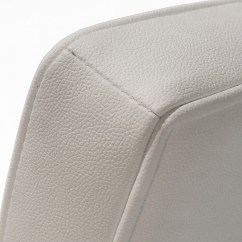 Genuine Leather Dining Chairs Melbourne Ergonomic Chair For Back Pain Pandora White