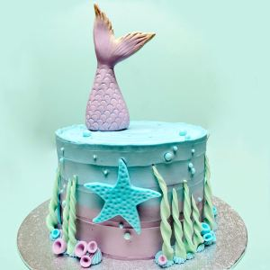 Handmade Luxury Mermaid Cake