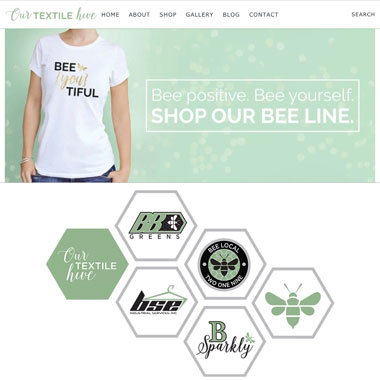 Our Textile Hive and SkyBound Tek Design
