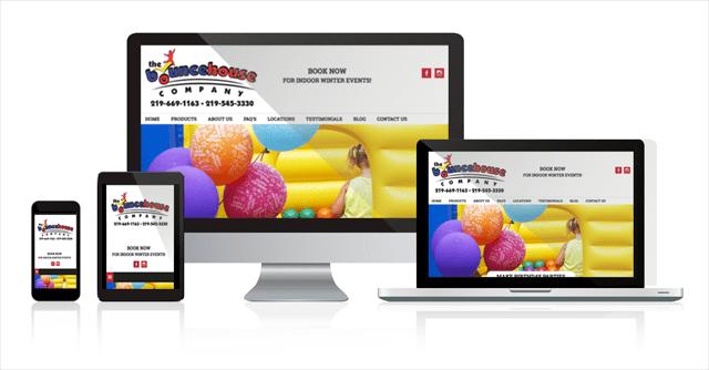 Web design Northwest Indiana