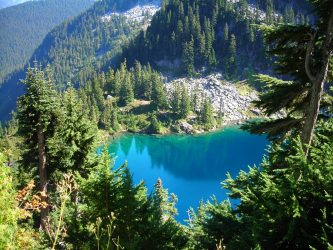 Trapp Lake on PCT