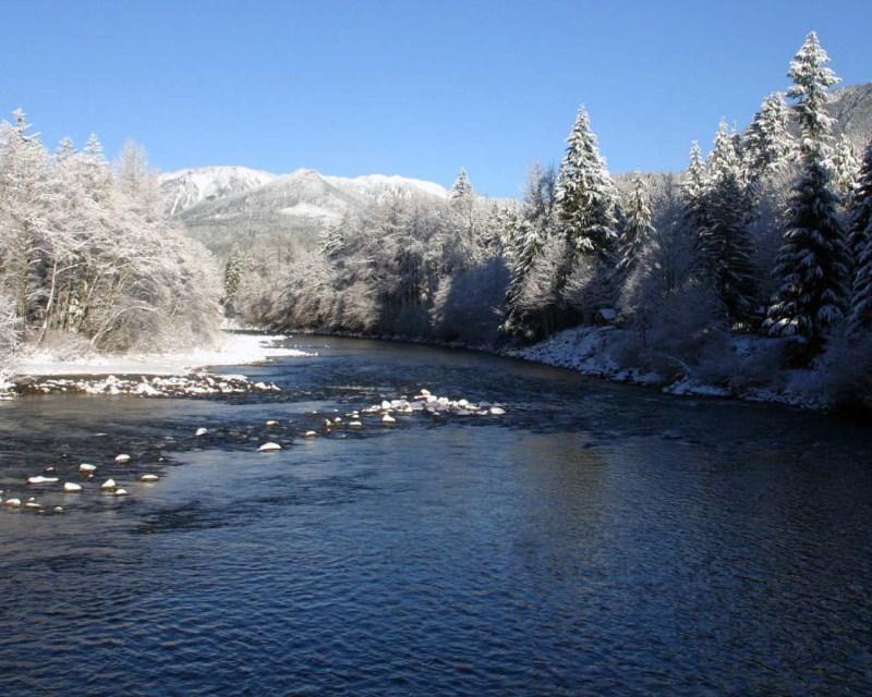 Skykomish River Baring Washington