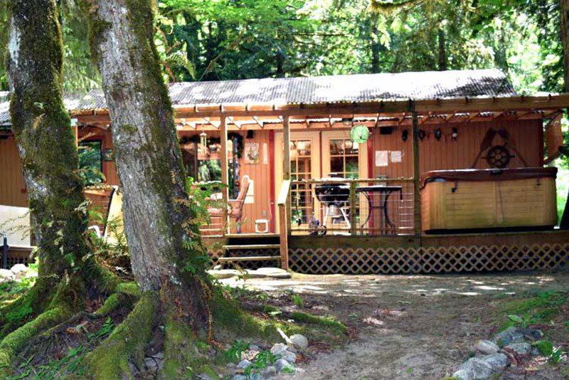Dog Friendly Washington cabin rental close to Seattle