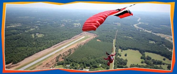 Advanced Skydiving Training - Skydive Georgia