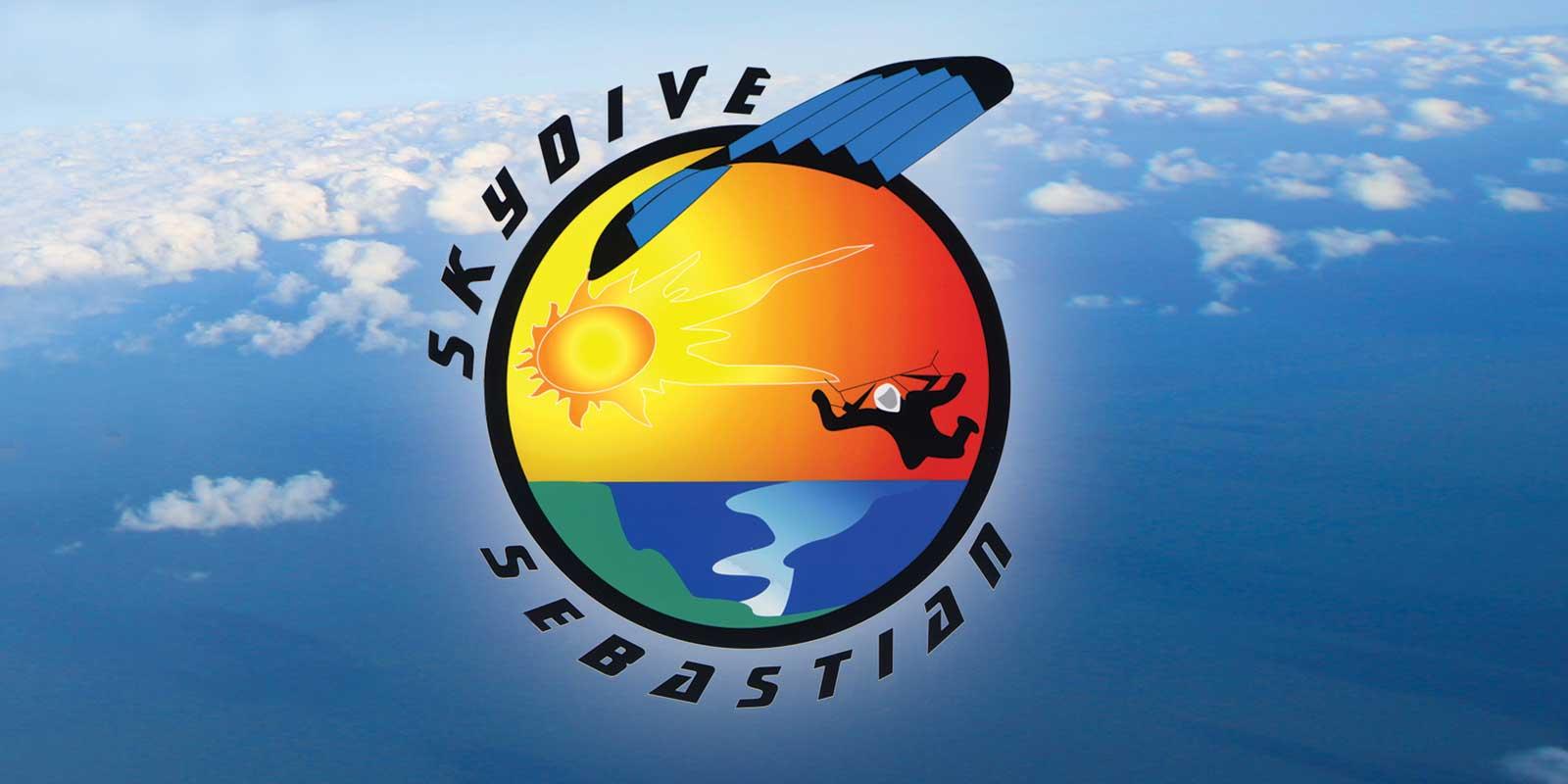 Skydive Sebastian Logo