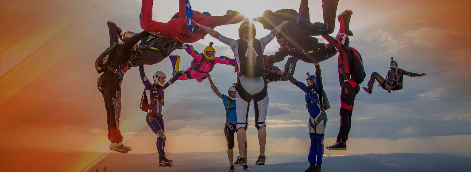 Group Skydive in Los Angeles