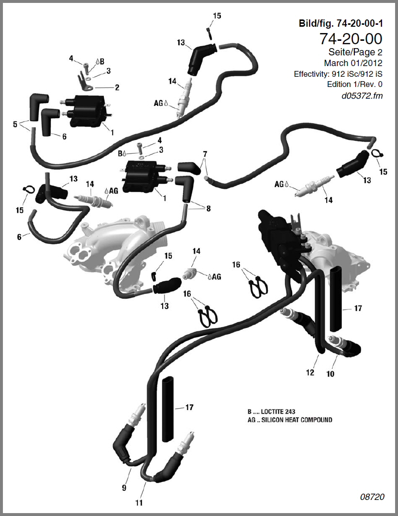 medium resolution of rotax 912 ignition wiring diagram wiring library912is ignition coils ignition cable spark plug connector