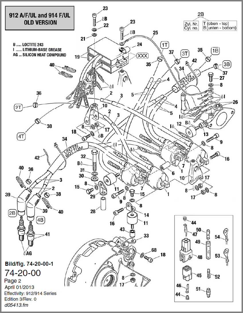 Rotax 582 Wiring Diagram Rotax 503 Wiring Diagram