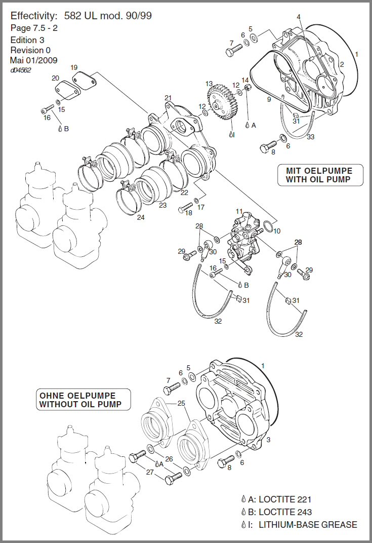 medium resolution of 582 rotary valve cover oil pump drive oil pump diagram