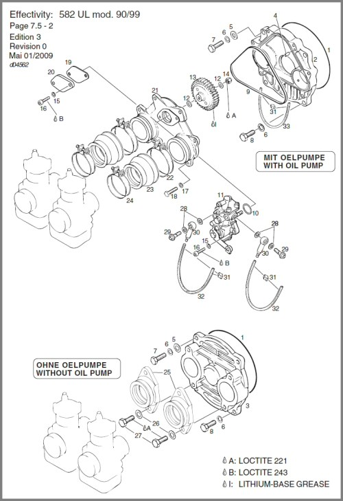 small resolution of 582 rotary valve cover oil pump drive oil pump diagram