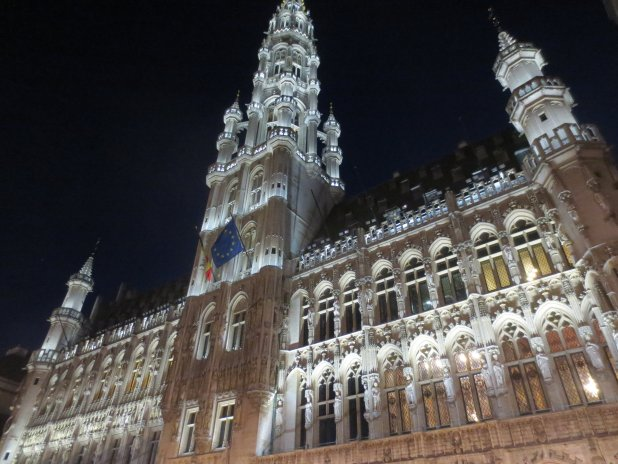 Town Hall Brussels at Night