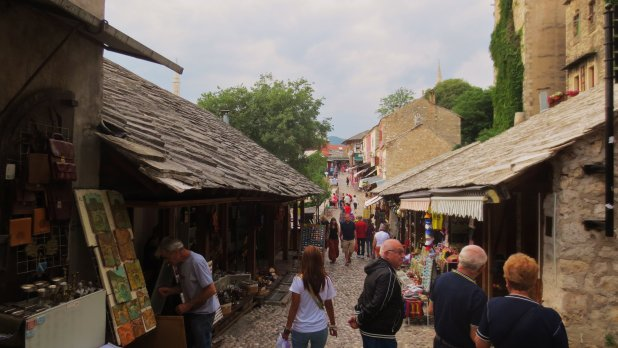 Old Town Street Mostar