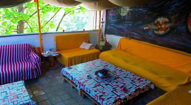 Hostel Backpackers Terrace in Skopje, Macedonia