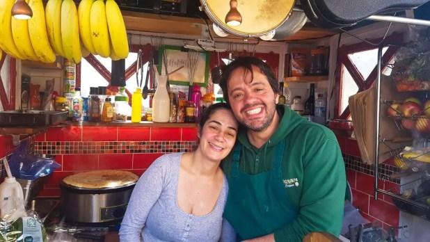 Fernando and Gardenia at Tupiniquim