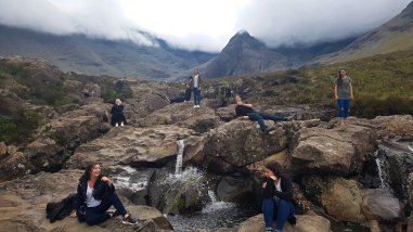 Group at the Fairy Pools