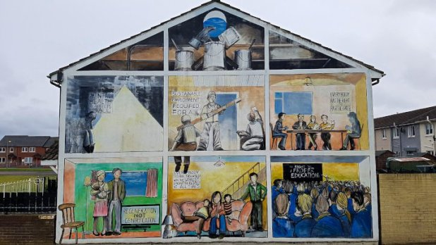 Belfast Rights Mural