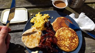 Breakfast on Utklippan