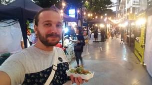 Selfie at Maya Night Market