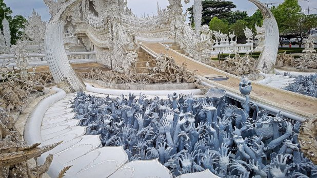 Path to the White Temple