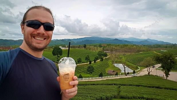 Selfie at Choui Fong Tea Plantation