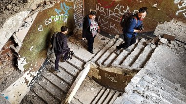Palatul Adevarul Stair Well #2
