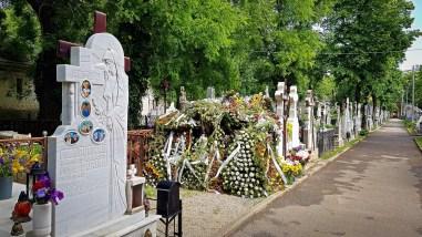 Plots in Bellu Cemetery