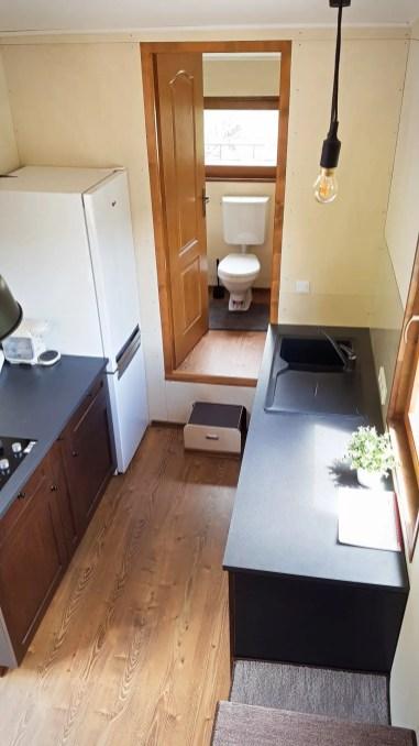 Eco Tiny House Interior #1