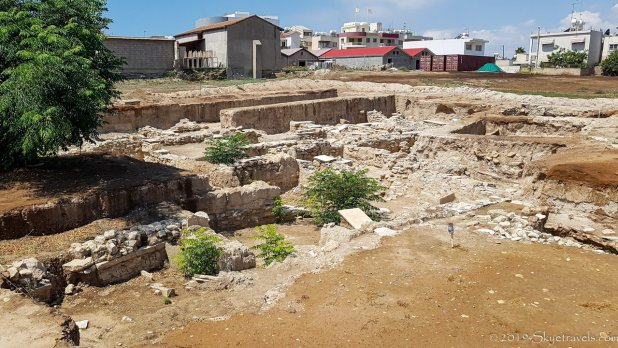 Kition Ruins in Larnaca
