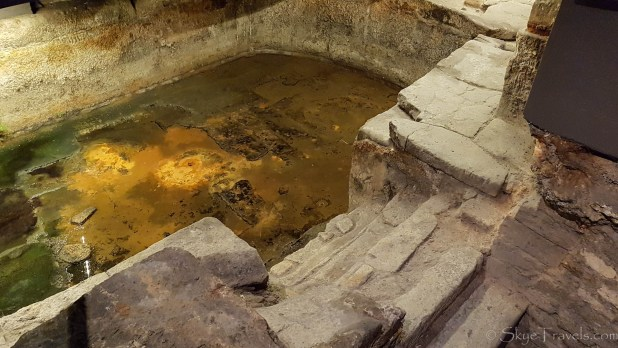 Caldarium at the Roman Baths