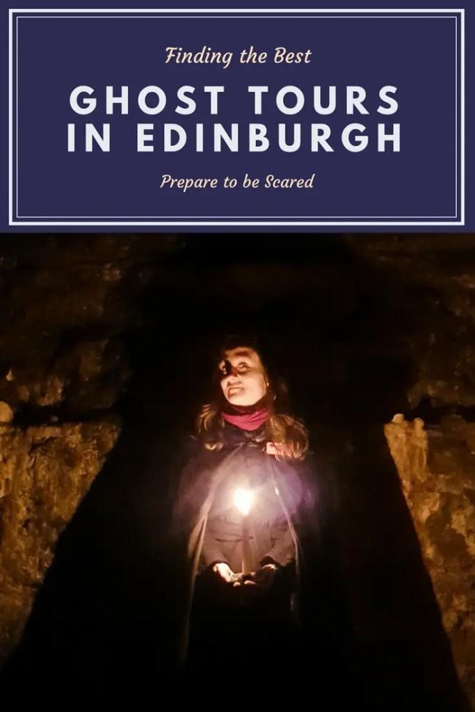 Ghost Tours in Edinburgh Pin