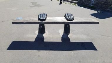 Landscape Alley Bench