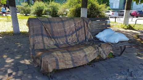Landscape Alley Sofa Bench