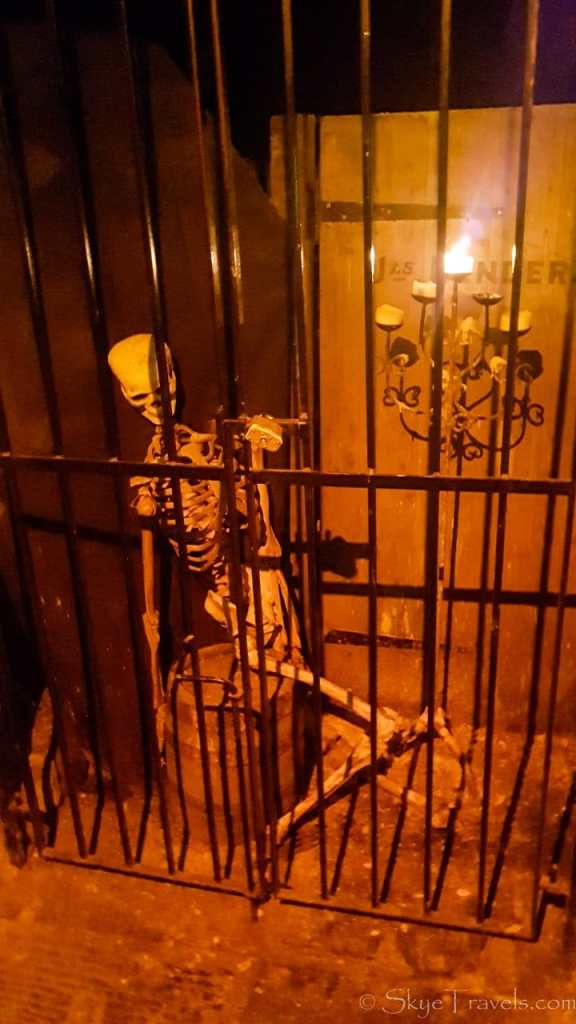 Skeleton in the Crypts