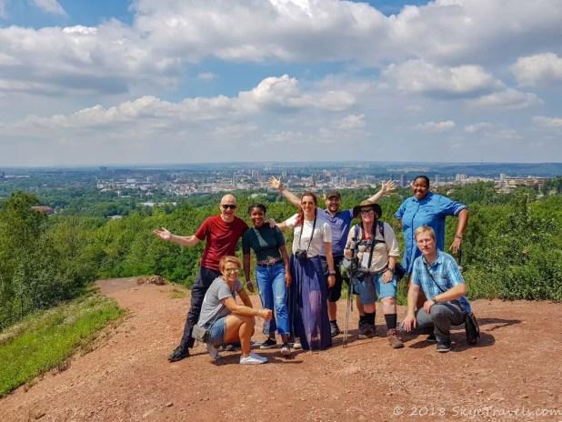 Blogger Group at Halda Ema in Ostrava