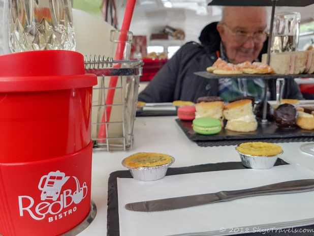 Coffee or Tea on the Red Bus Bistro