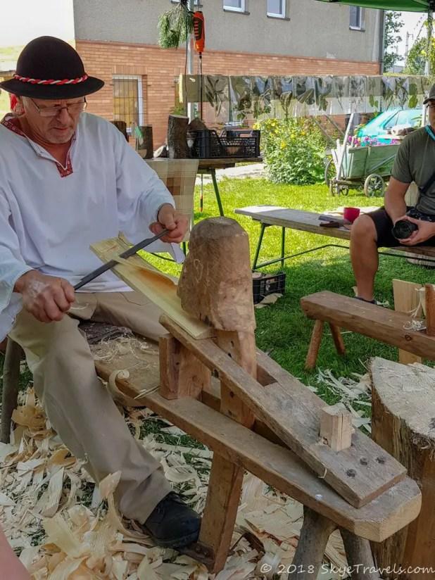 Shilgle Making at Mosty u Jablunkova