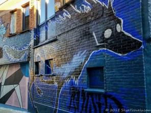 Graffiti Alley in Ghent #11