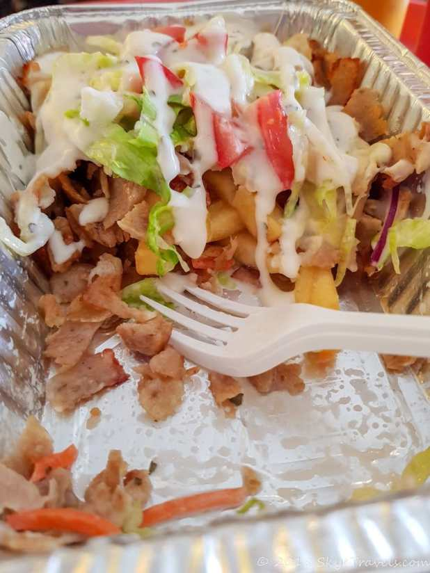 Kapsalon at HAS Cafe in Rotterdam