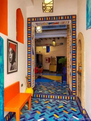 Essaouira Hotel Entrance