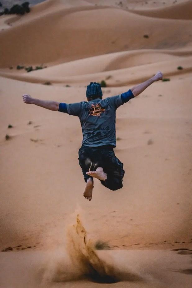 Selfie on the African Desert Safari