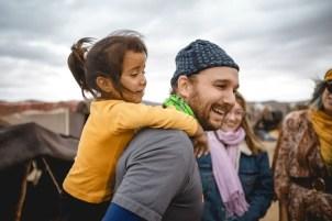 Selfie with Berber Girl #2