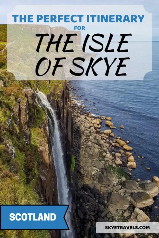 Isle of Skye Itinerary Pin