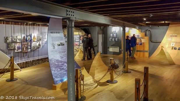 Talisker Distillery Displays