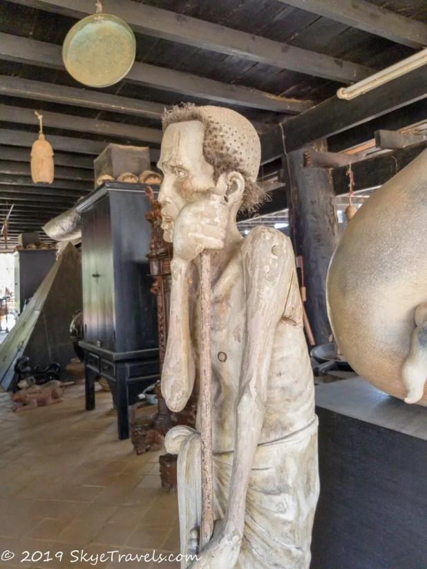 Black House Museum Sculpture