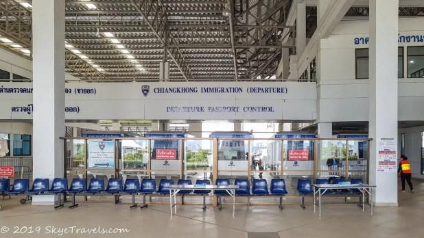 Thai Immigration at Chiang Khong #2